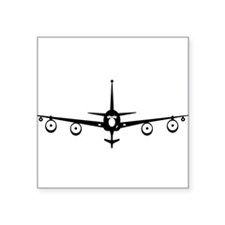 "Unique Airmen Square Sticker 3"" x 3"""