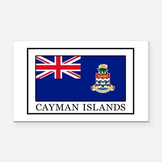 Unique Cayman islands Rectangle Car Magnet