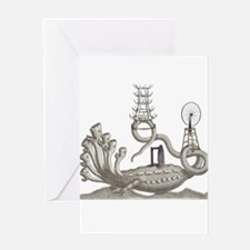 Duchamp Horror Greeting Cards