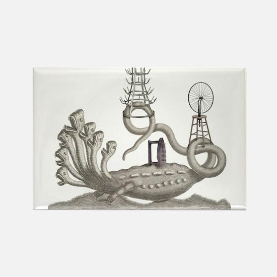 Duchamp Horror Magnets