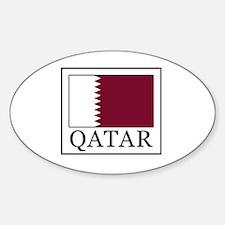 Cute Qatar flag Decal