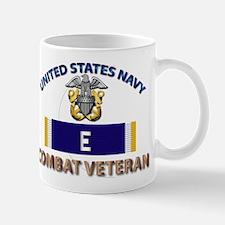 Navy E Ribbon - Cbt Vet Mug