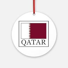 Qatar Round Ornament