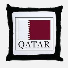 Qatar Throw Pillow