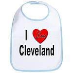 I Love Cleveland Bib
