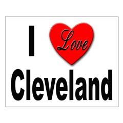 I Love Cleveland Posters