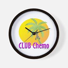 Club Chemo-Colon Wall Clock