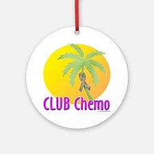 Club Chemo-Colon Ornament (Round)