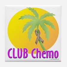 Club Chemo-Colon Tile Coaster