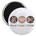 Peace Love Scrapbook 2.25