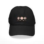 Peace Love Scrapbook Black Cap