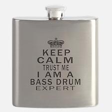 I Am Bass Drum Expert Flask