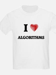 I Love ALGORITHMS T-Shirt