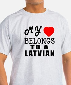I Love Latvian T-Shirt