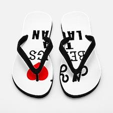 I Love Laotian Flip Flops
