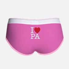 I Love PA Pennsylvania Women's Boy Brief