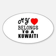 I Love Kuwaiti Decal