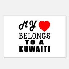 I Love Kuwaiti Postcards (Package of 8)