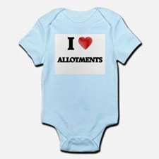 I Love ALLOTMENTS Body Suit