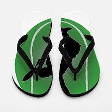 Funny Australian open Flip Flops