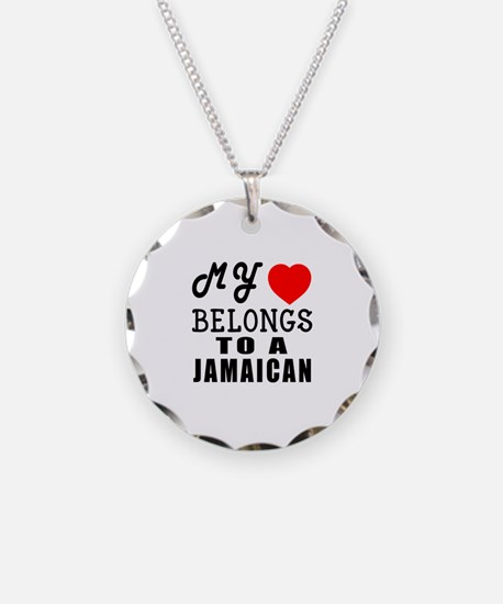 I Love Jamaican Necklace