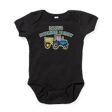 Unique Tractor Baby Bodysuit