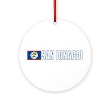 San Ignacio, Belize Ornament (Round)