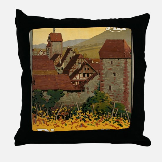 Unique Schweiz Throw Pillow