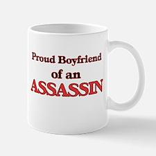 Proud Boyfriend of a Assassin Mugs