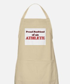 Proud Boyfriend of a Athlete Apron