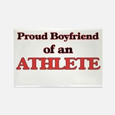 Proud Boyfriend of a Athlete Magnets