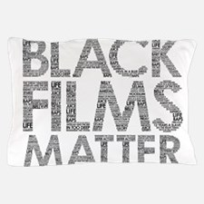 Black film Pillow Case