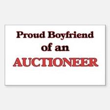 Proud Boyfriend of a Auctioneer Decal