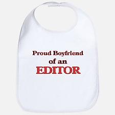 Proud Boyfriend of a Editor Bib