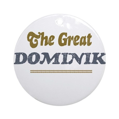 Dominik Ornament (Round)