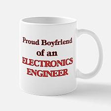 Proud Boyfriend of a Electronics Engineer Mugs