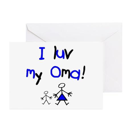 Oma Greeting Cards (Pk of 10)