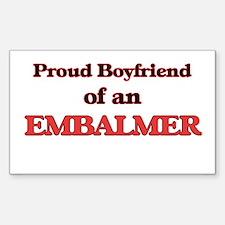 Proud Boyfriend of a Embalmer Decal