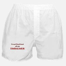 Proud Boyfriend of a Embalmer Boxer Shorts