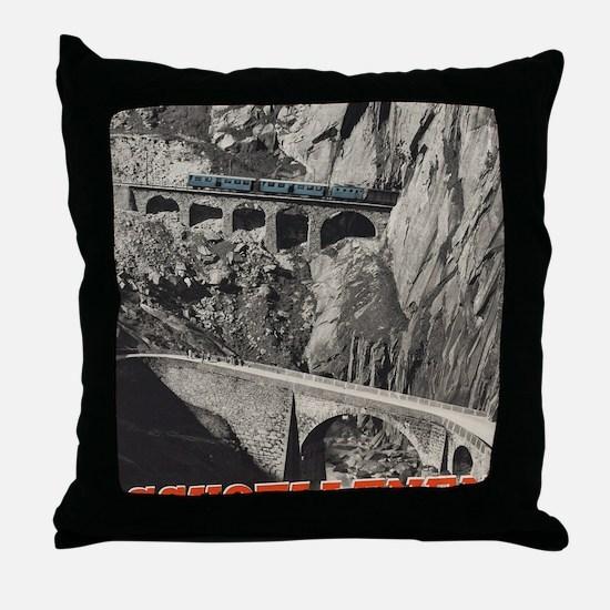 Cool Schweiz Throw Pillow