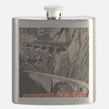 Funny Schweiz Flask