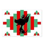 Chihuahua Christmas Postcards (Pk of 8)