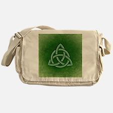 Triangular Celtic Knot Messenger Bag