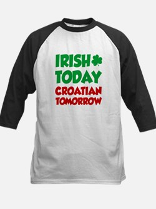 Unique Irish today hungover tomorrow Tee