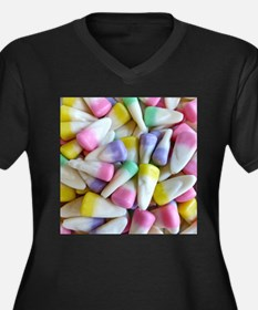 Easter Candy Corn Plus Size T-Shirt
