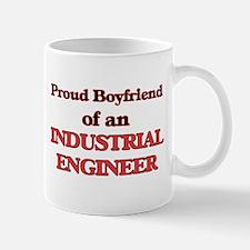 Proud Boyfriend of a Industrial Engineer Mugs