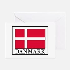 Funny Denmark Greeting Card