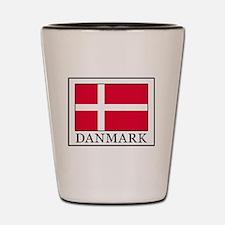 Cute Denmark Shot Glass