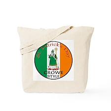 Crowe, St. Patrick's Day Tote Bag