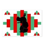 Cocker Spaniel Christmas Postcards (Pk of 8)
